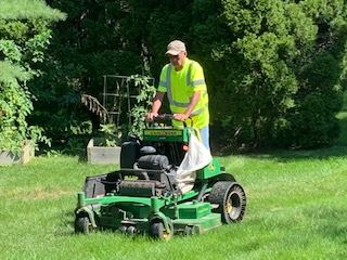 dpw mowing grass
